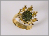 """Seance""   Ring Gold 18 ct., Goldpyrith"